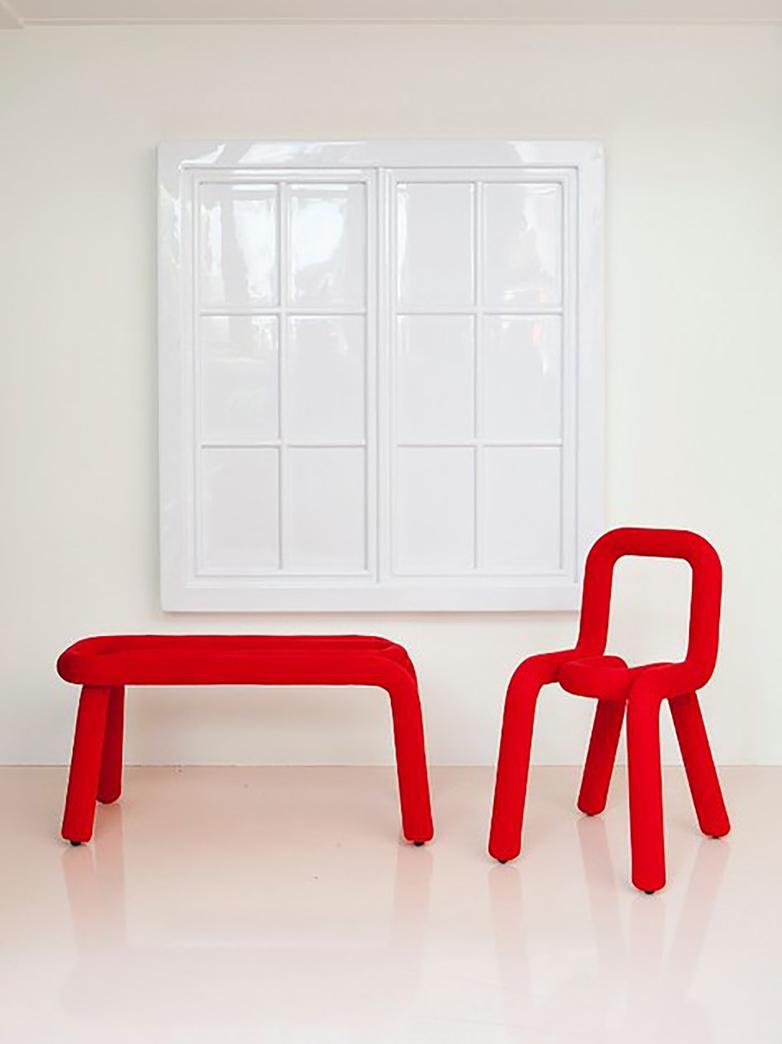 Bold Bench - Red