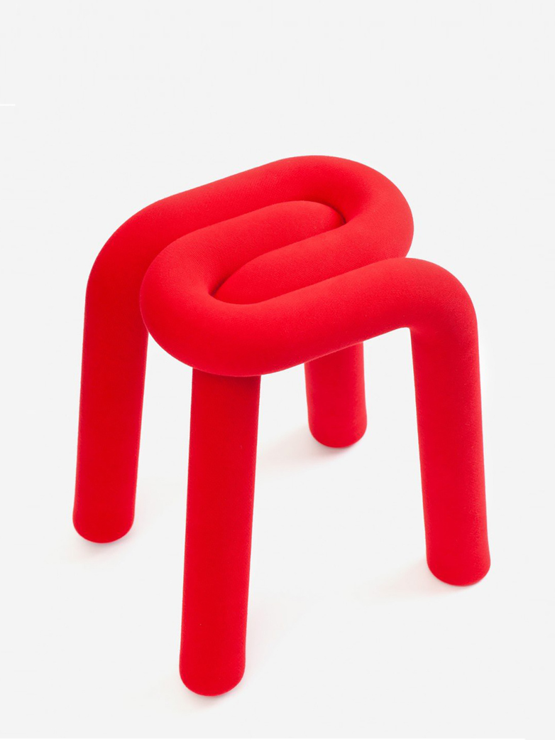 Bold Stool - Red