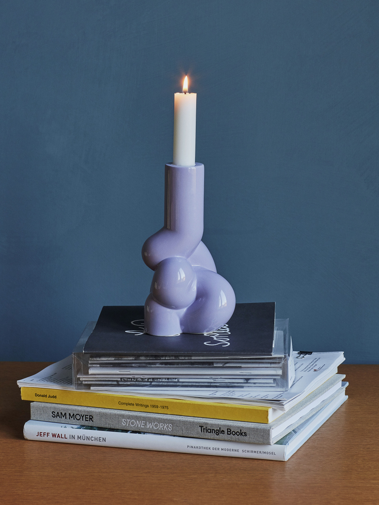 W&S Soft Candle Holder - Lavender