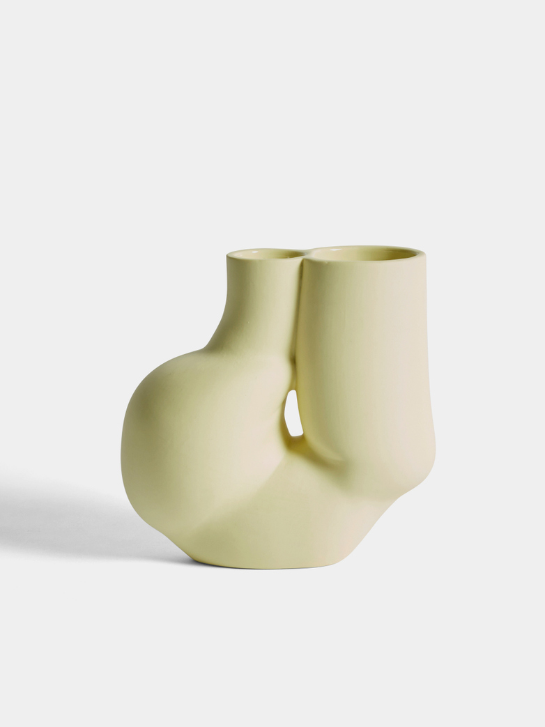 W&S Chubby Vase - Soft Yellow