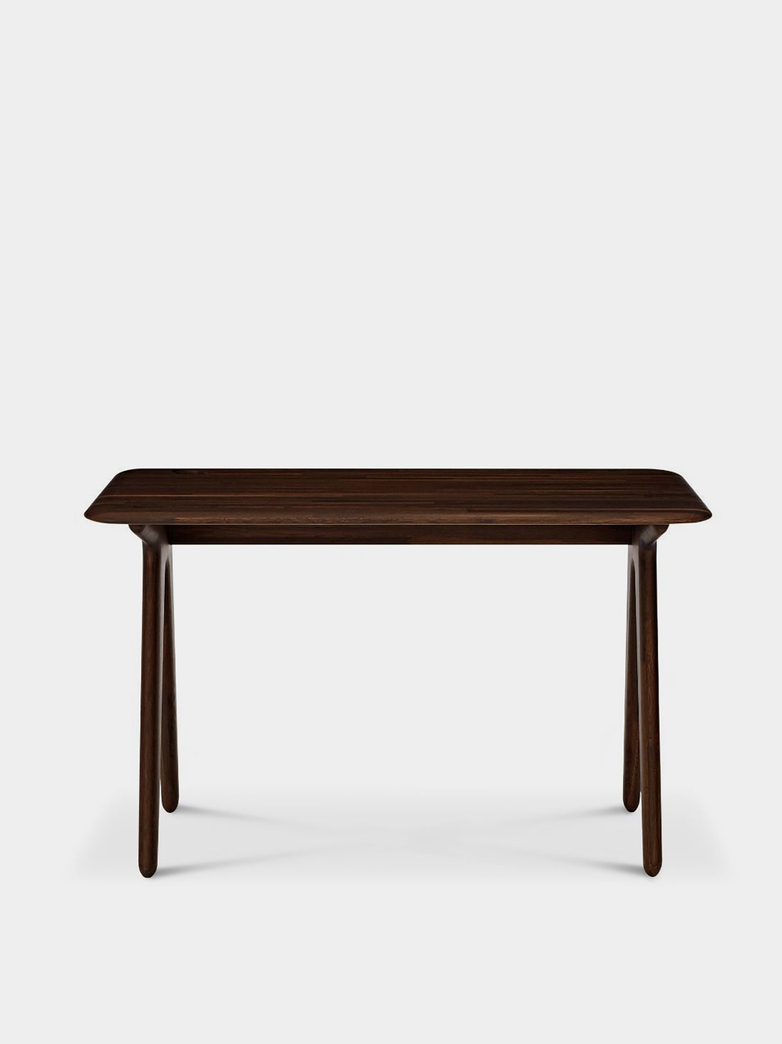 Slab Desk - Fumed Oak