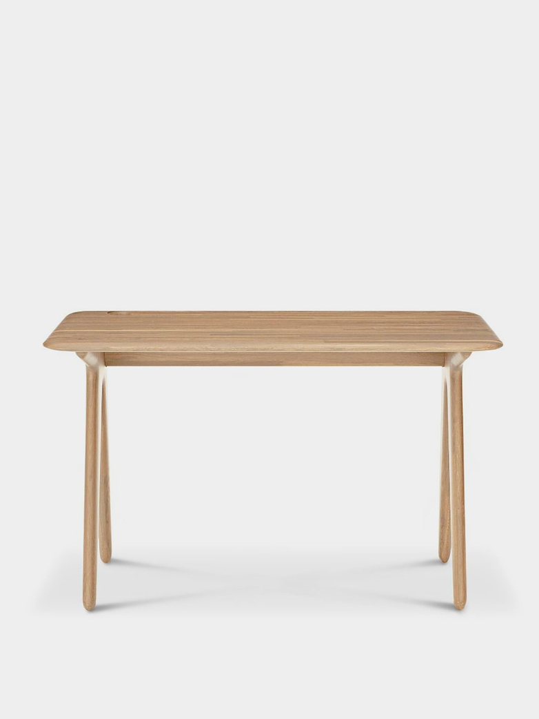 Slab Desk - Natural Oak