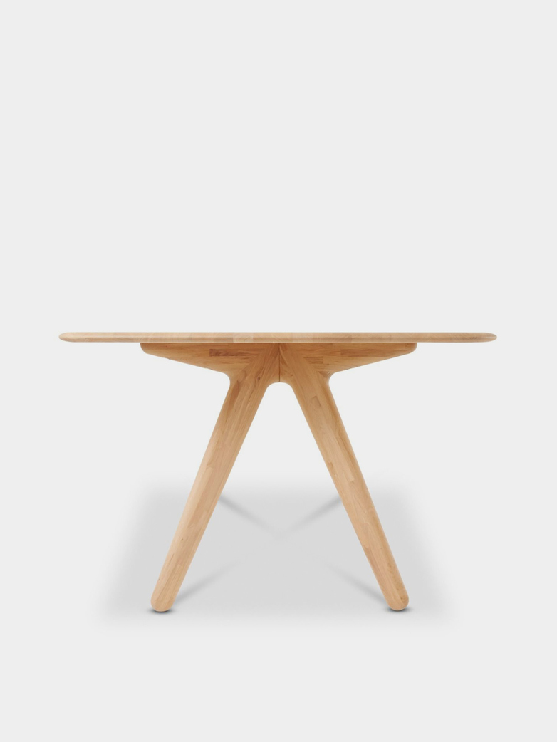 Slab Dining Table Natural Oak - 240x100 cm