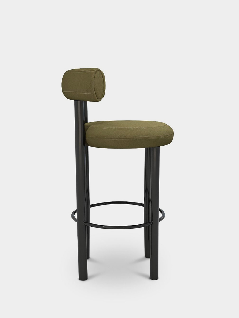Fat Bar Stool - Green