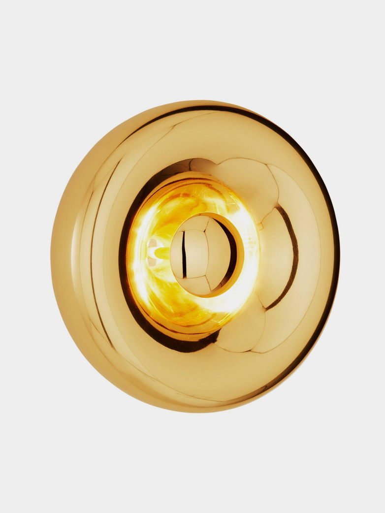 Void Surface Light - Brass