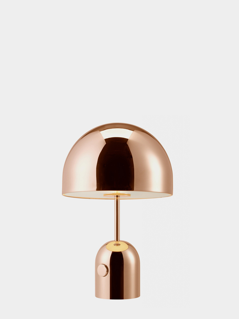 Bell Table Lamp - Copper