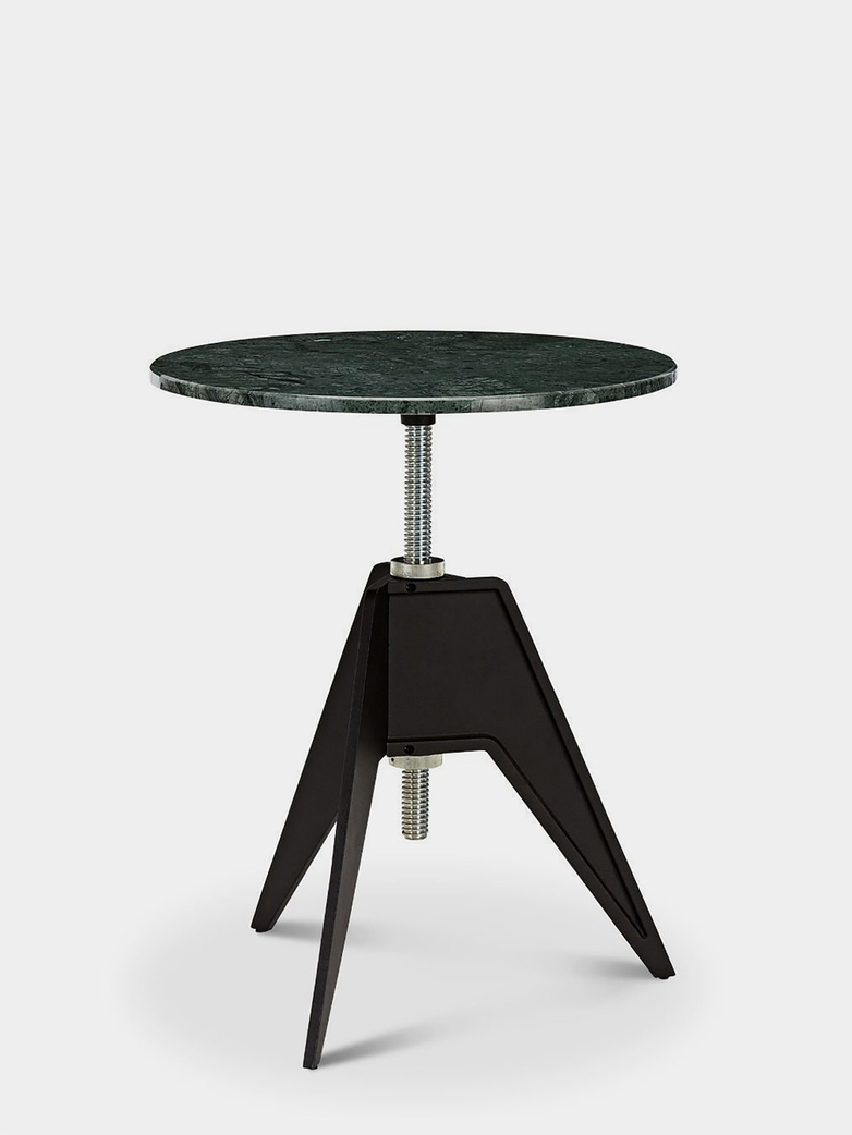 Screw Table - Green Marble