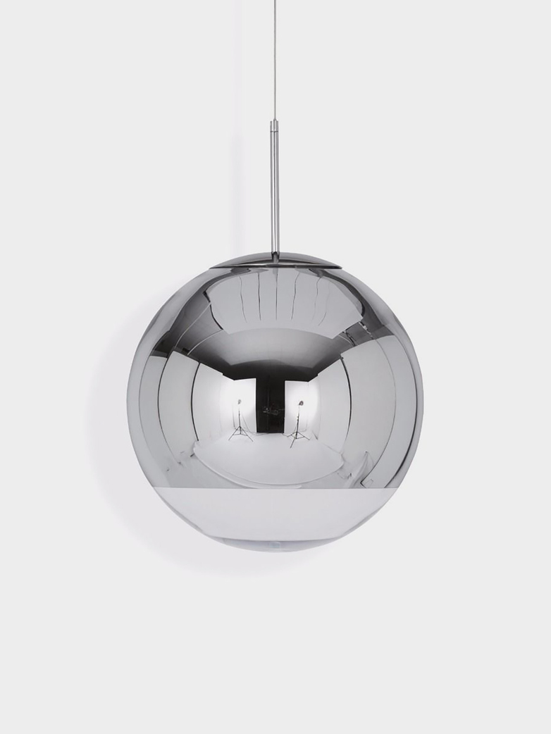 Mirror Ball Pendant - Chrome
