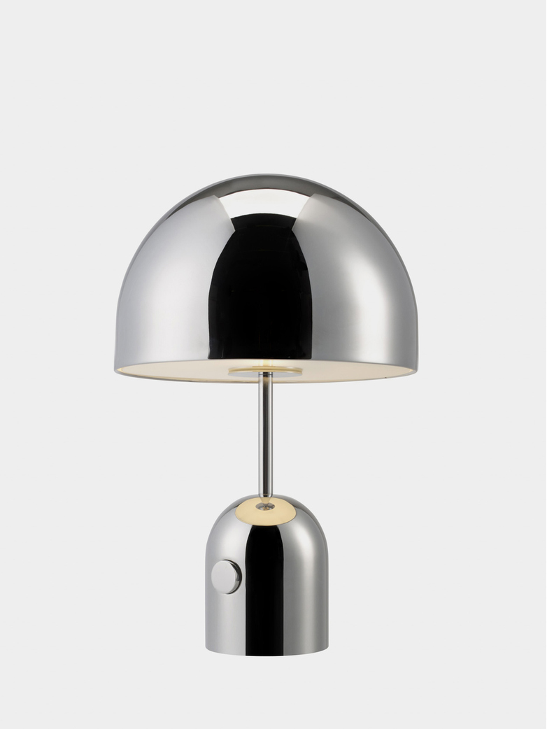 Bell Table Light - Chrome