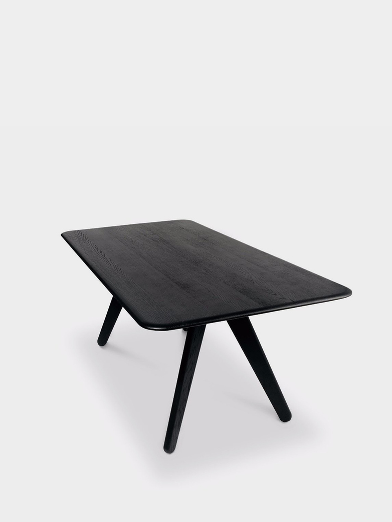 Slab Dining Table Black - 200x96 cm