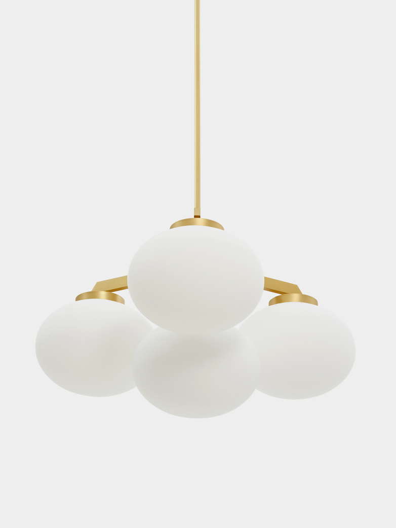 Cloudesley Satin Brass - Small