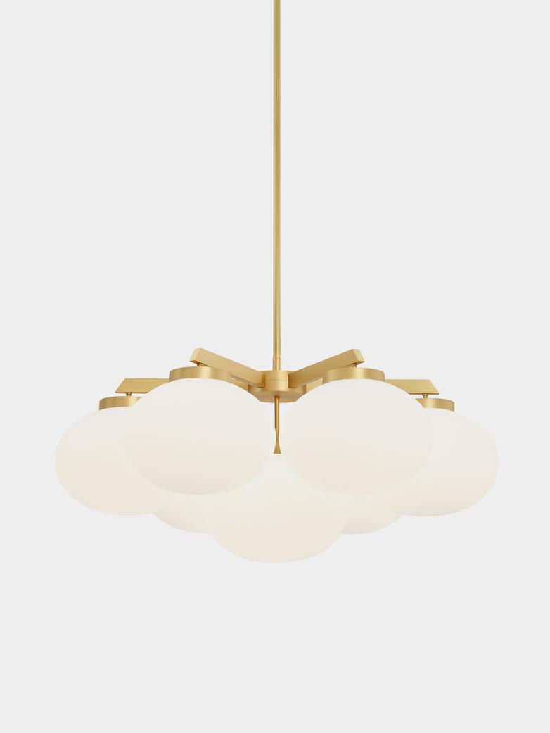 Cloudesley Satin Brass - Medium