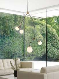 Ivy Vertical 4 - Smoked Glass