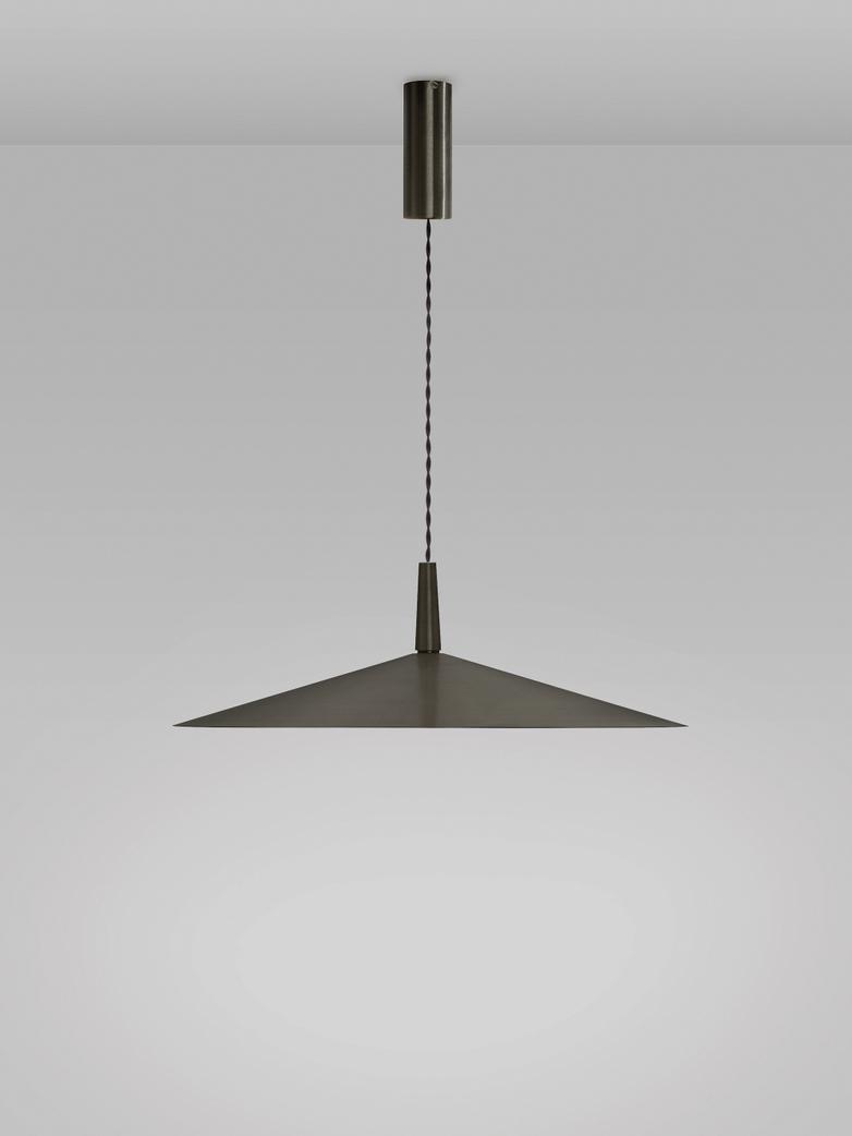 Dark Bronze - Black Braided Cord