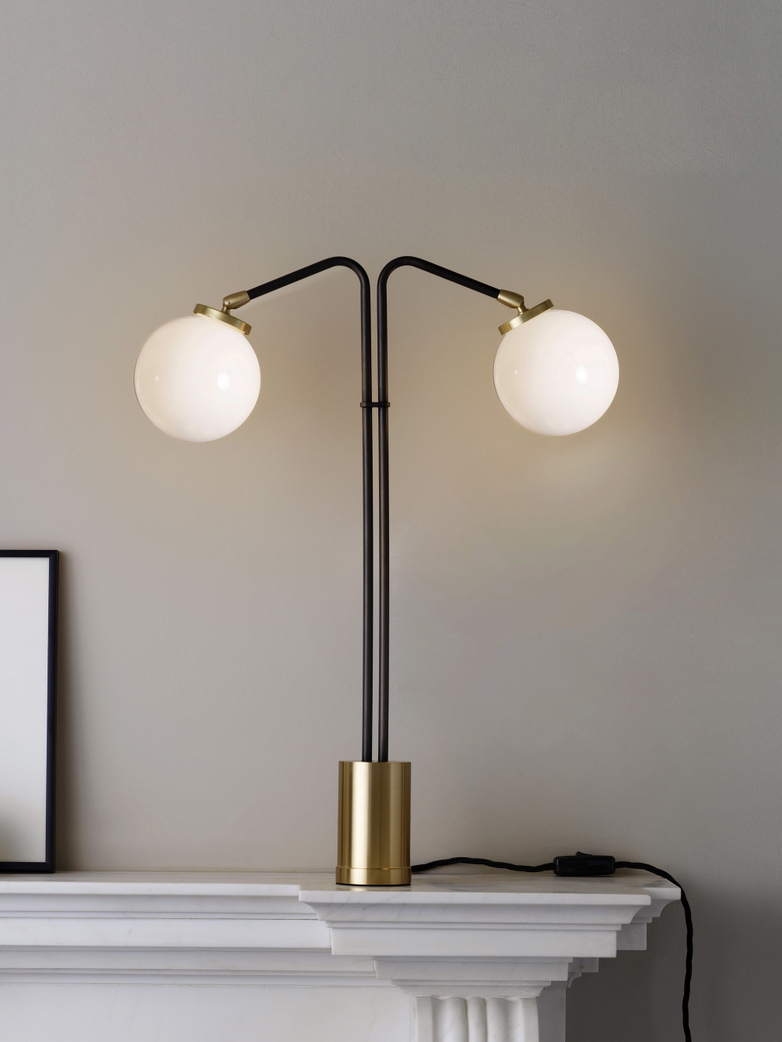 Array Twin Table Lamp