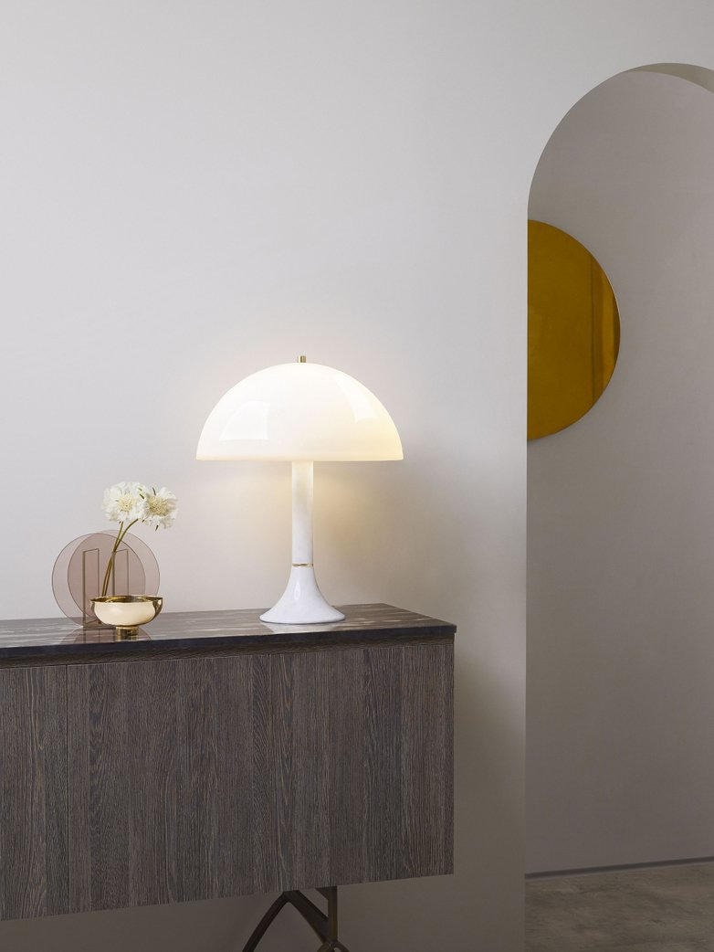 Bloomsbury Table Lamp - White Carrara Marble