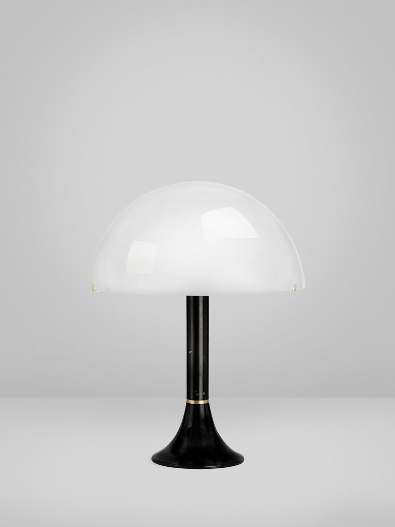 Bloomsbury Table Lamp - Black Marquina Marble