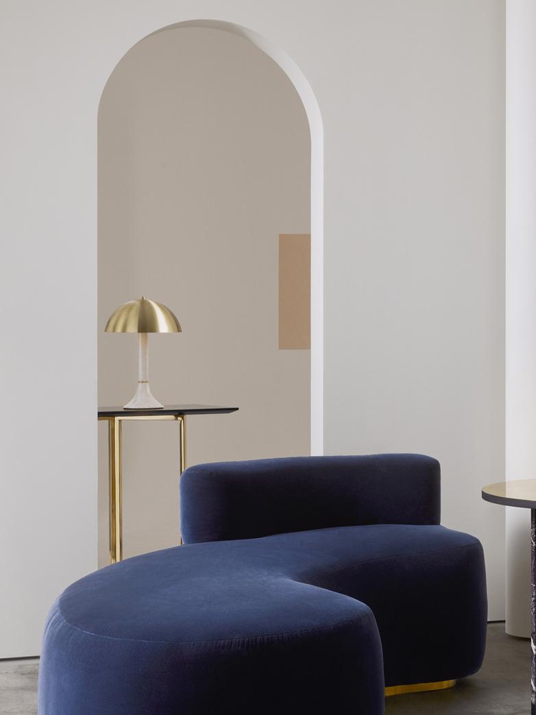 Regent Table Lamp - White Carrara Marble