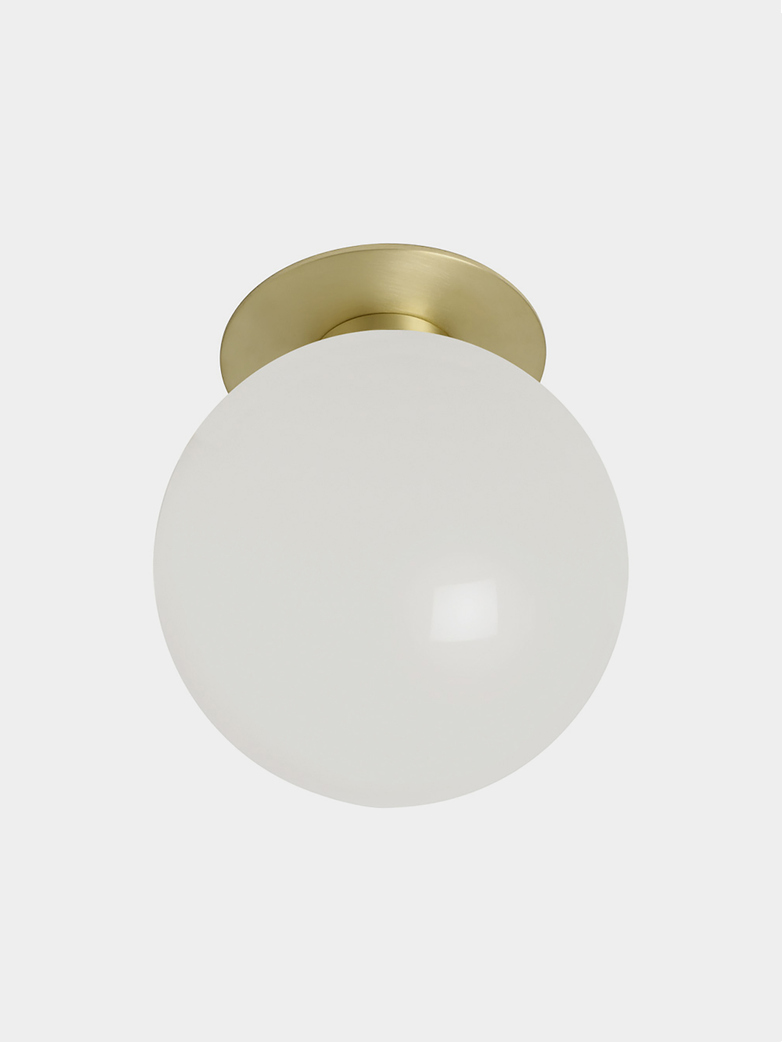 Mezzo Flush Large - Satin Brass