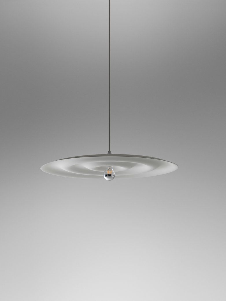 Alma w171 Pendant - Grey White