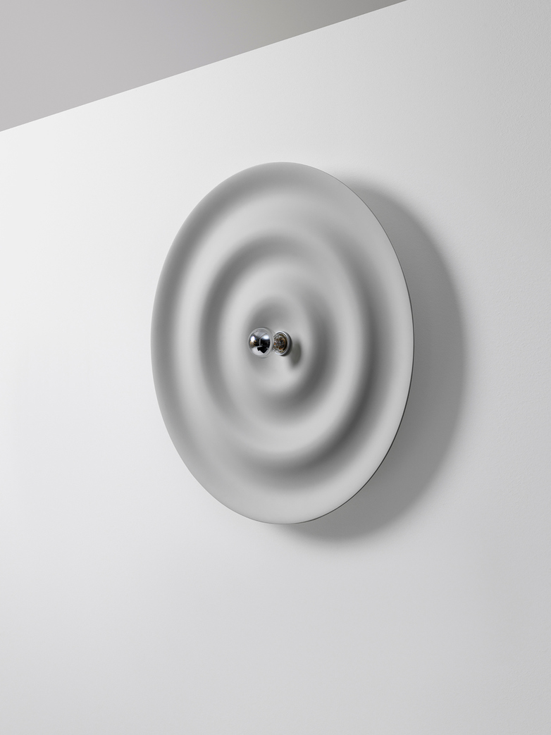 Alma w171 Wall Lamp - Grey White