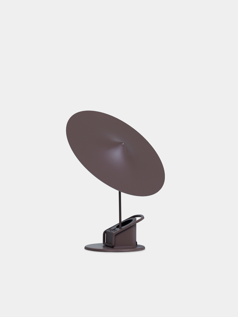 Île w153 Table Lamp - Grey Brown
