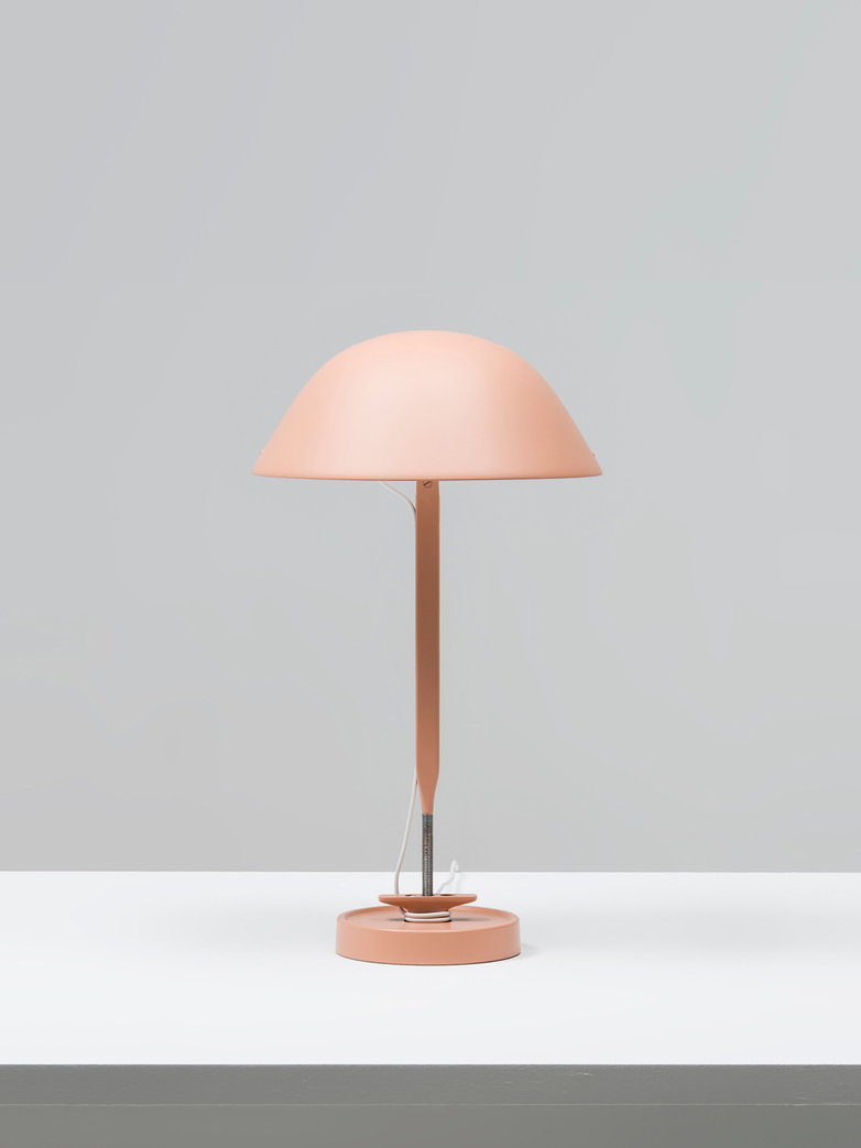 Sempé w103B Table Lamp - Beige Red