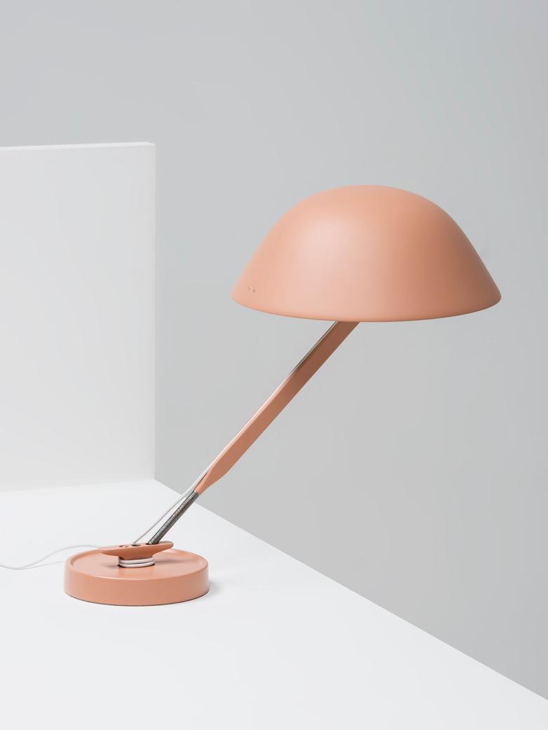 Sempé w103B Table Lamp - Beige Red