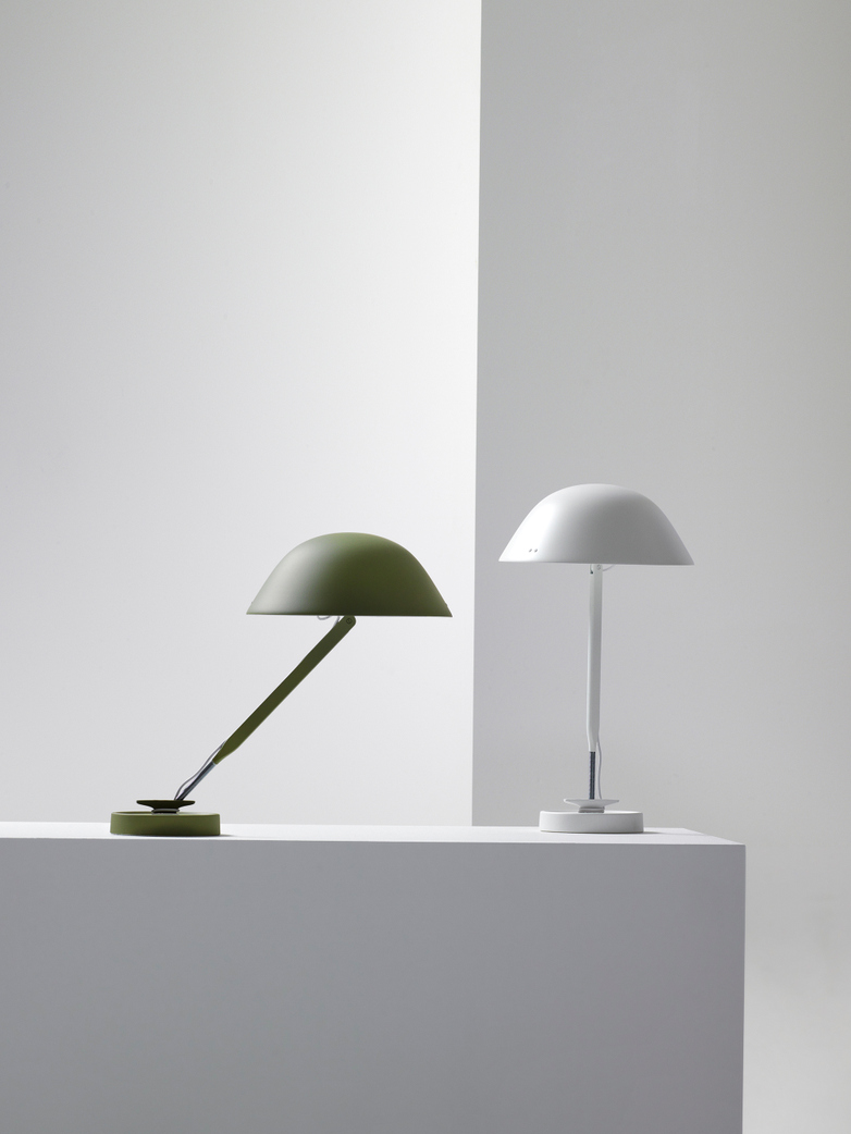 Sempé w103B Table Lamp - Reed Green