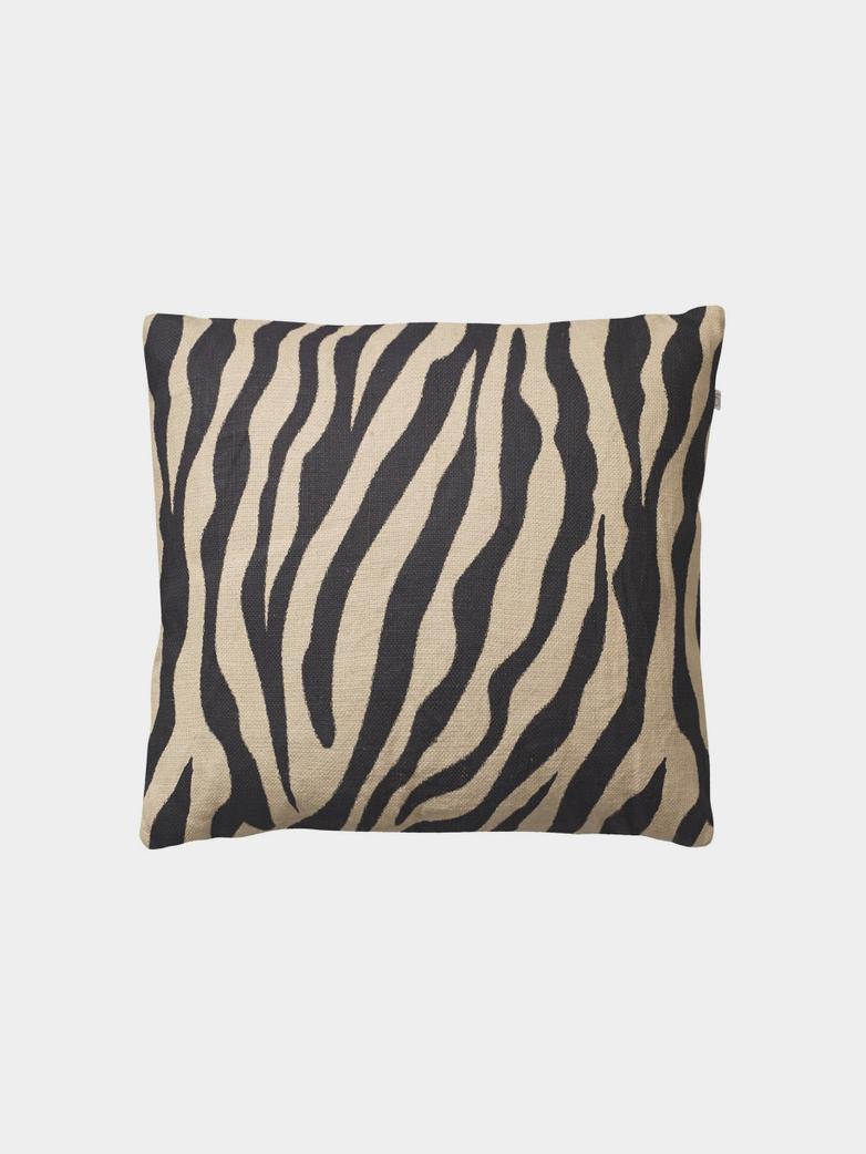 Zebra – Beige Black – 50 x 50