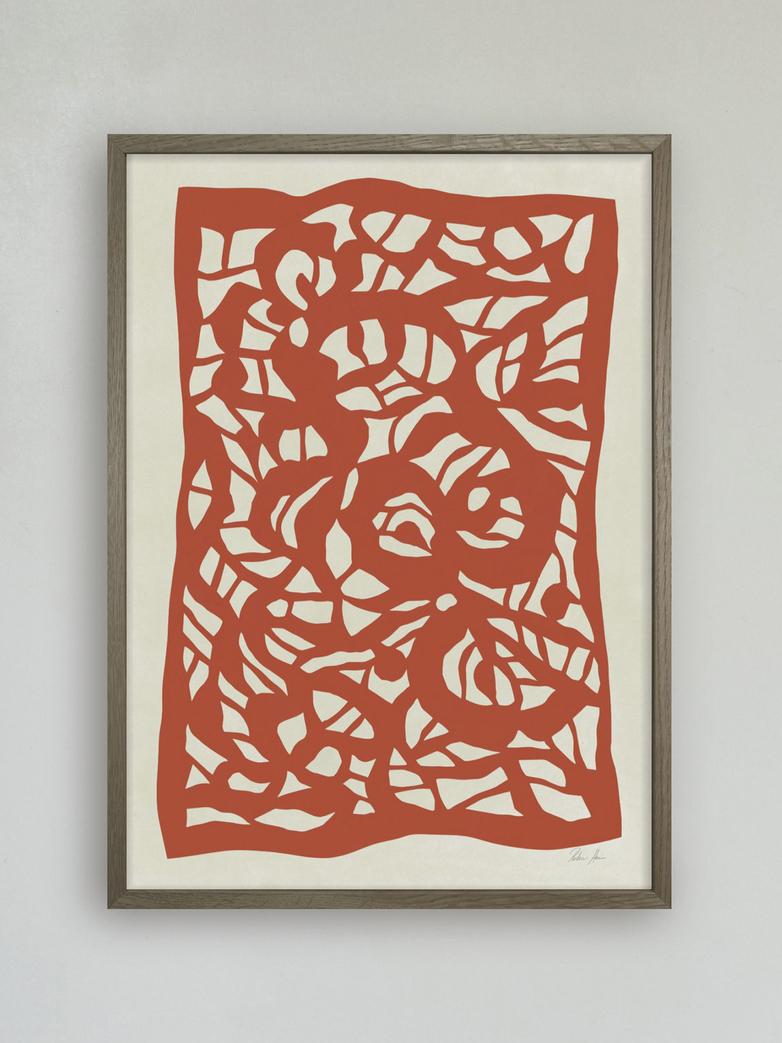 Root no.4 - 50 x 70 cm