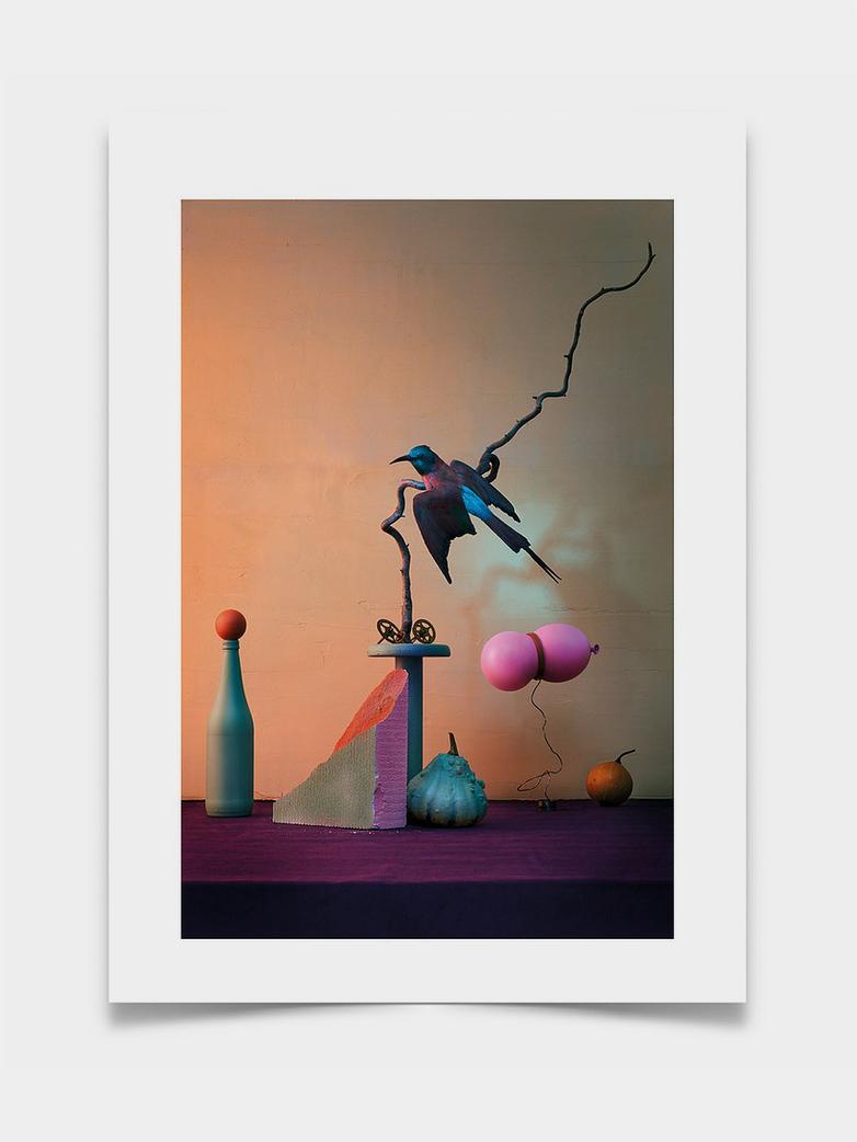 Blue Bird - 50 x 70 cm