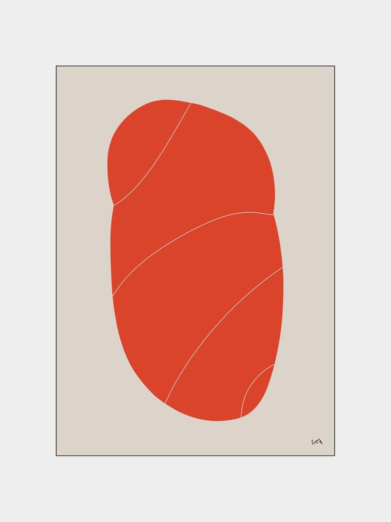 La Forme 001 - 30 x 40 cm