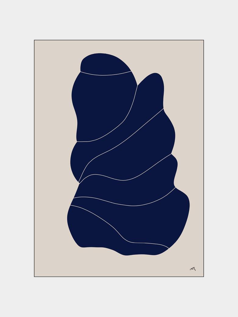 La Forme 002 - 40 x 50 cm