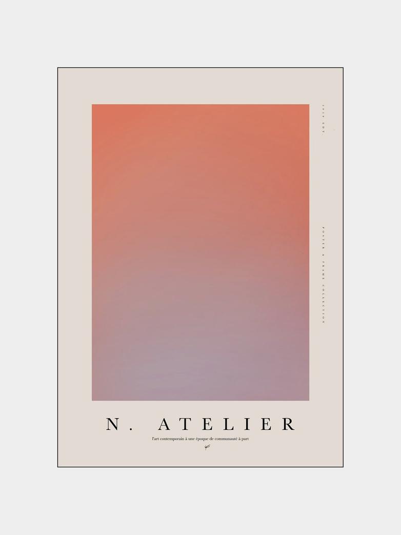 N.Atelier Records & Frame 001 - 50 x 70 cm