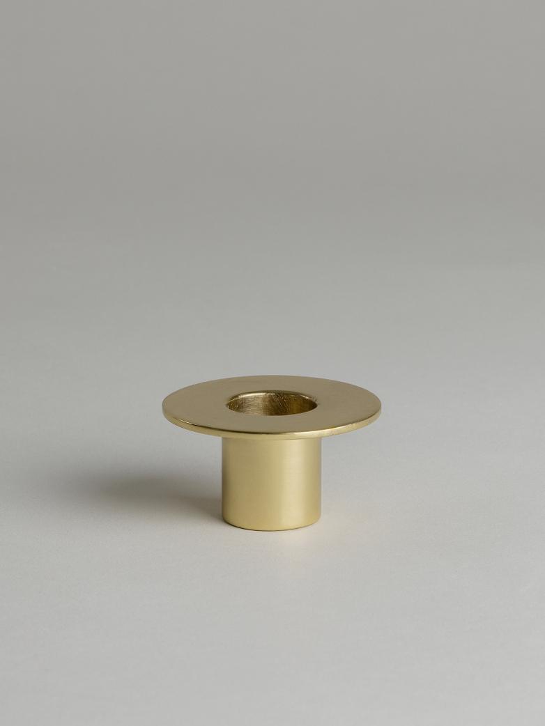 Tete-à-Tete Candle Holder – Brass