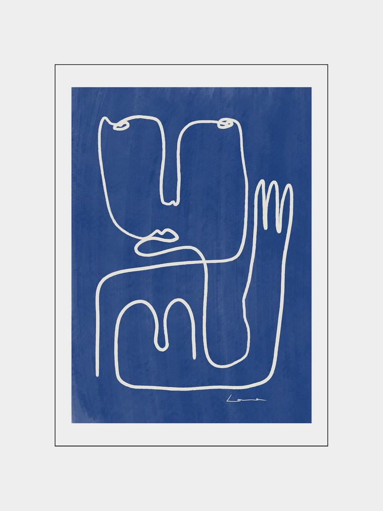 Hello Blue – 50 x 70 cm