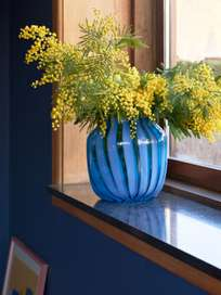 Juice Vase Light Blue
