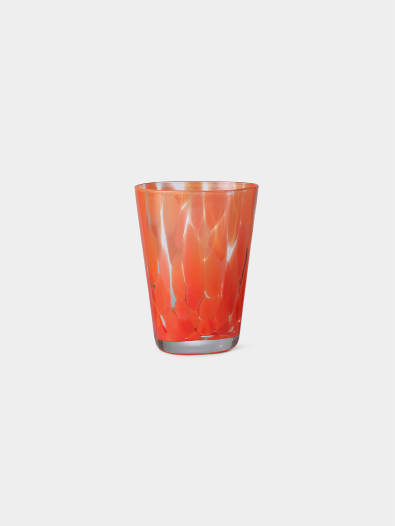 Casca Glass - Poppy Red