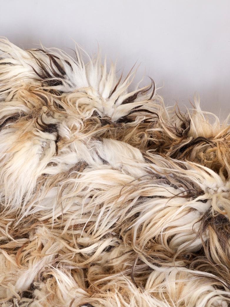 Fuzzy Shepherd Rug - Romb