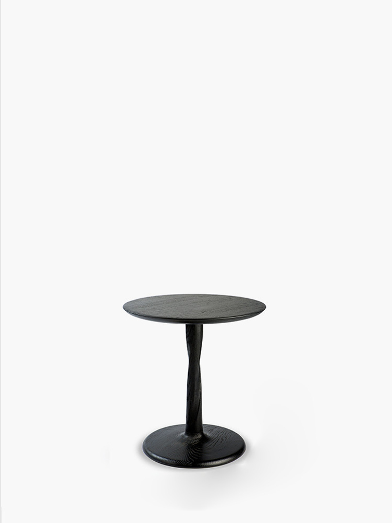 Torison Side Table – Oak Black