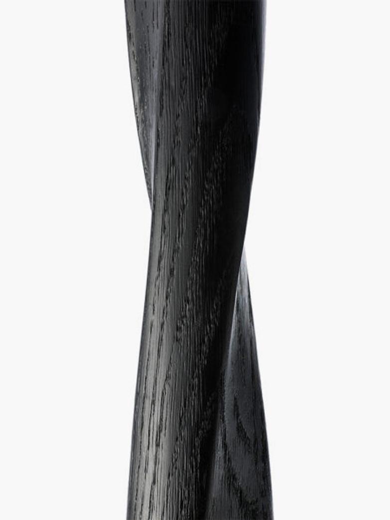 Torison Side Table – Oak Black