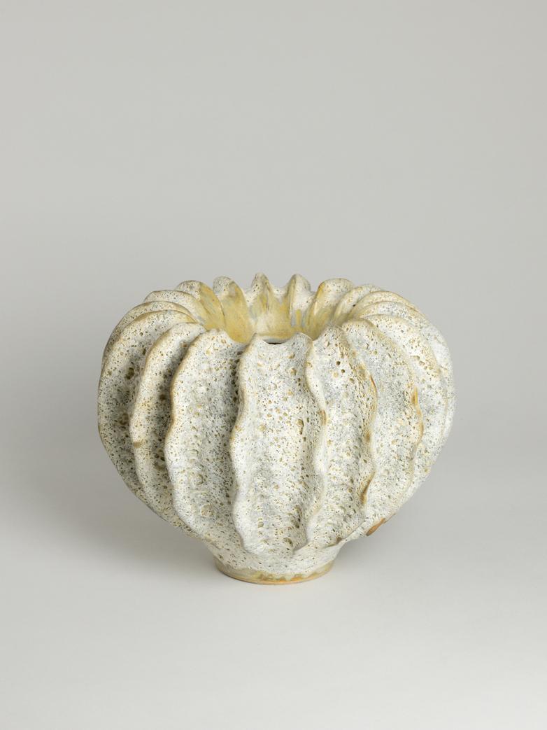 Moss Vase White - Medium