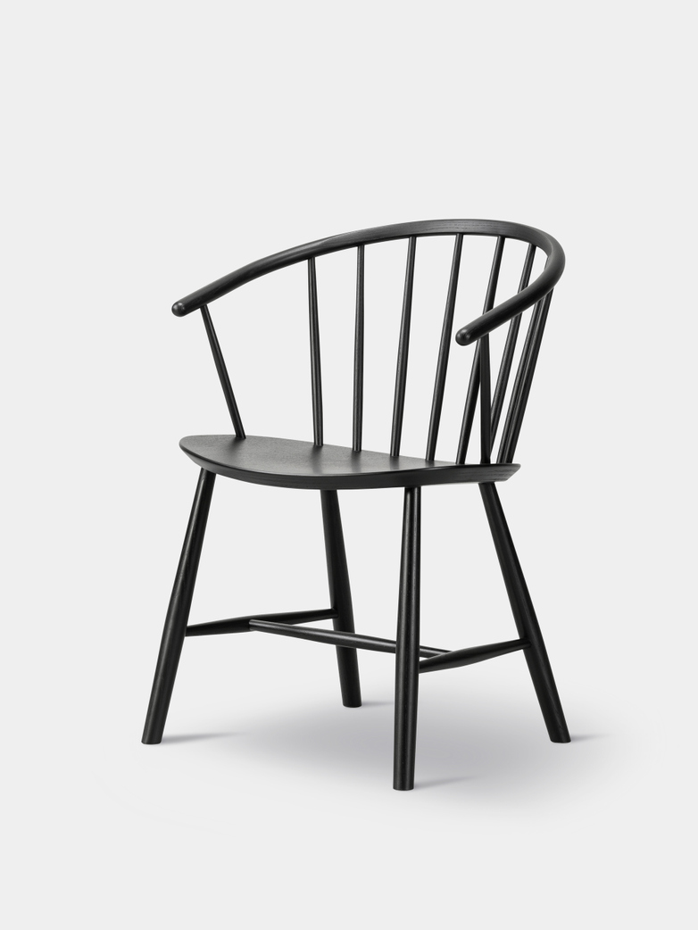 J64 Chair - Black Ash