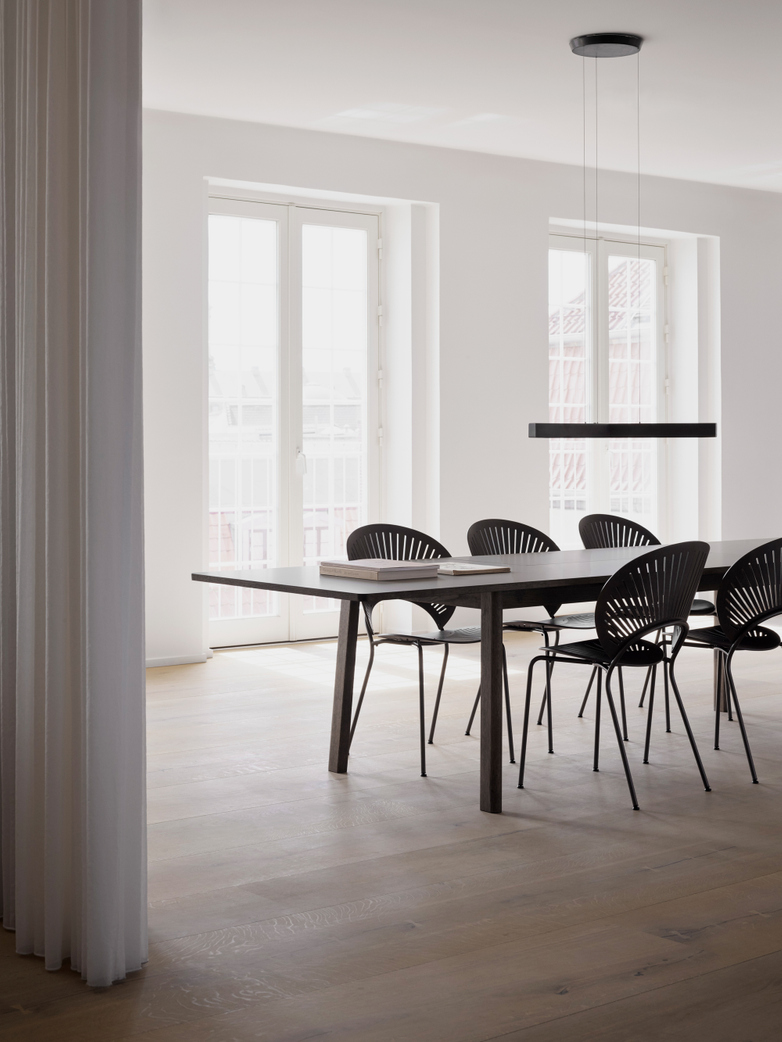 Trinidad Chair - Grey Stained Oak/Flint