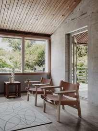 The Spanish Chair - Soaped Oak/Cognac