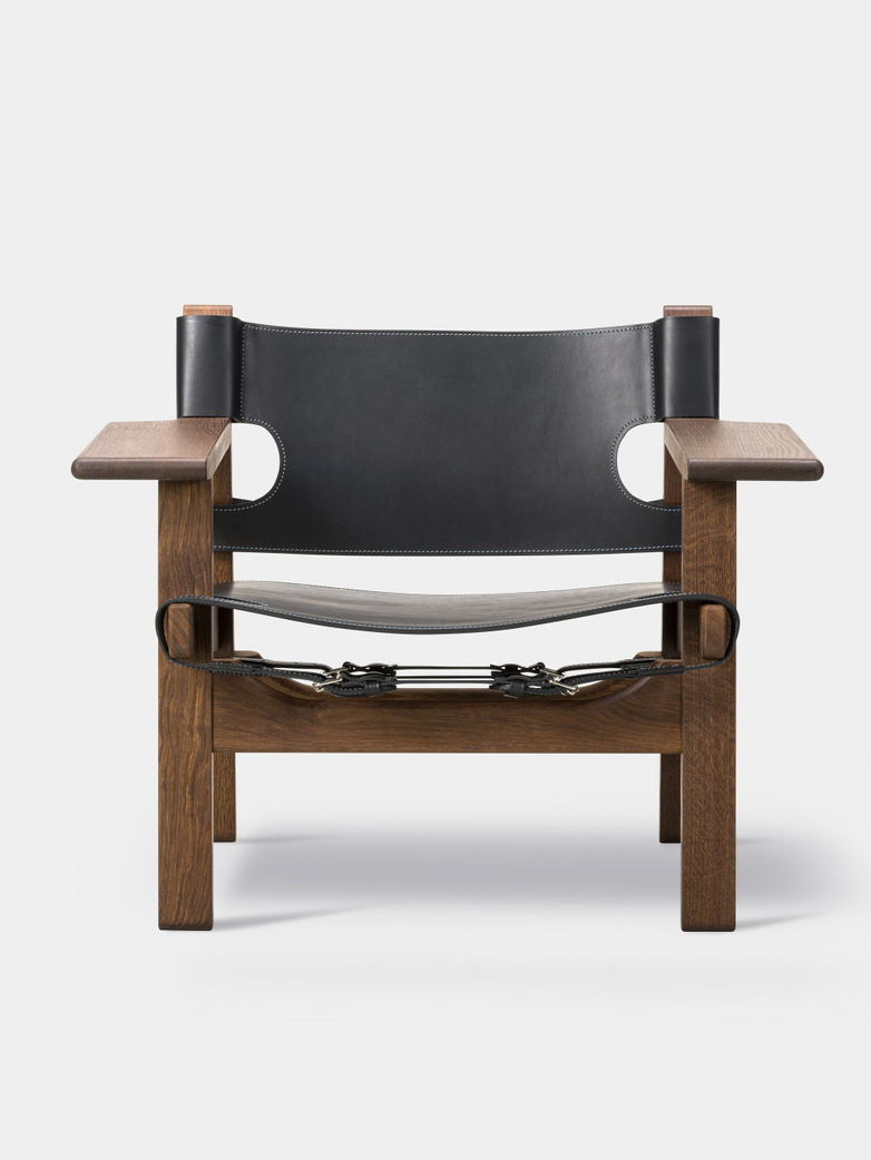 The Spanish Chair - Smoked Oak/Black