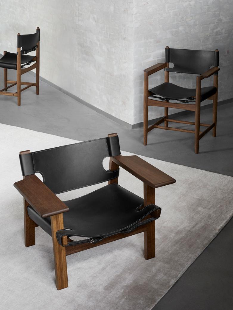 The Spanish Chair - Smoked Oak/Black