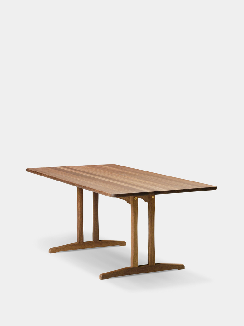Mogensen C18 Table - Smoked Oak