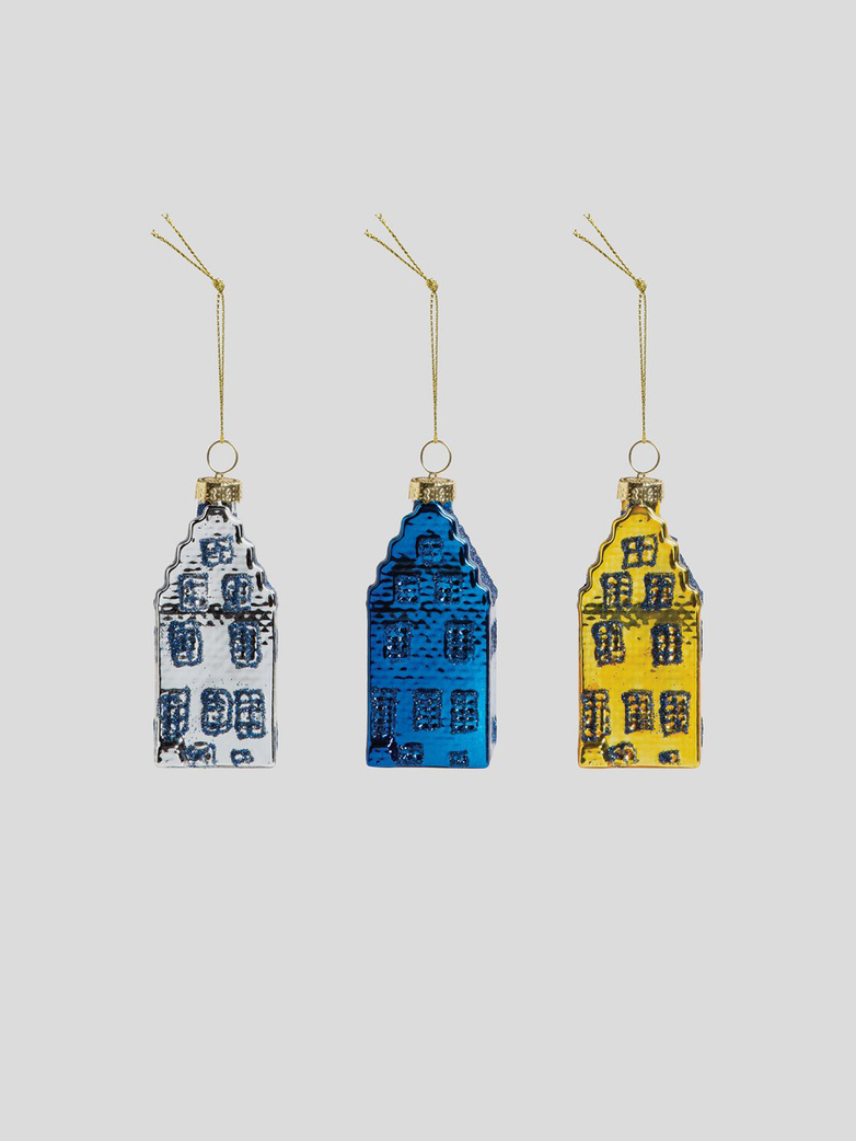 Canal House Ornaments – Set of 3